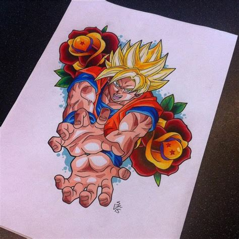 goku tattoo designs best 25 foto goku ideas on goku