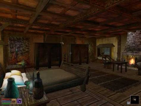 morrowind house mods morrowind cosy house mod requires tribunal bloodmoon youtube