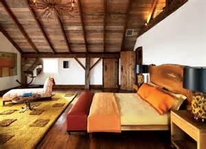 modern interior design ideas bright colors wooden walls