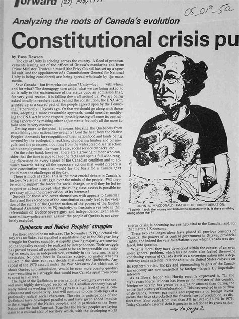 Canadas Kyoto Constitutional Crisis by Forward 1977