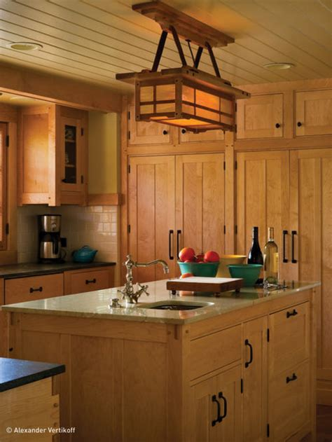craftsman kitchen lighting mission style light fixtures houzz
