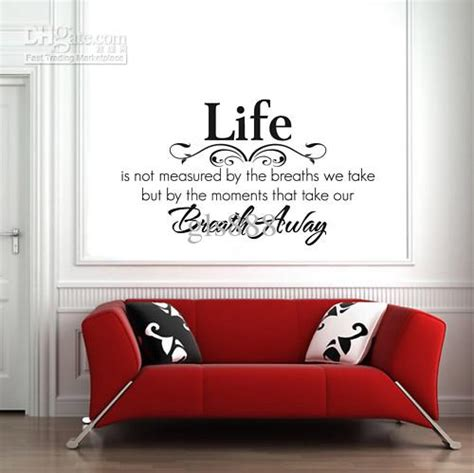 The Bedroom Store Locations yw1002life not measured words lettering saying wall decor