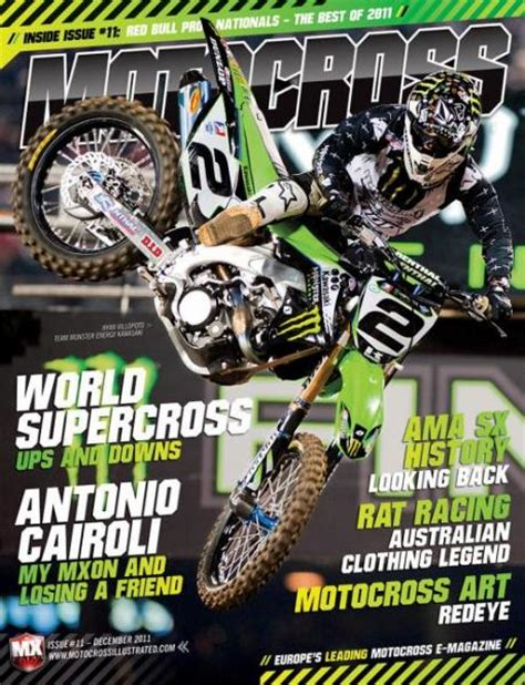 motocross magazine motocross e magazine issue 11 racer x