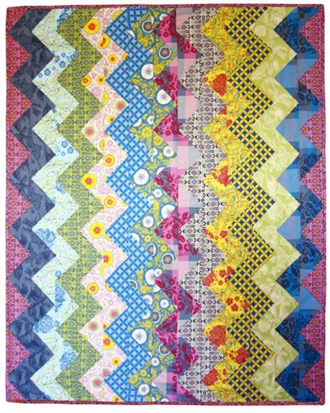 free pattern zig zag quilt new zig zag quilt pattern from anna maria horner make