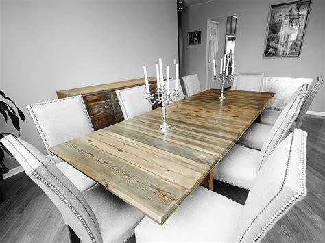 white washed wood dining table large slat table rh timber