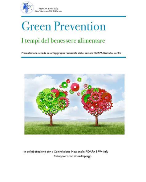 benessere alimentare calam 233 o green prevention i tempi benessere alimentare