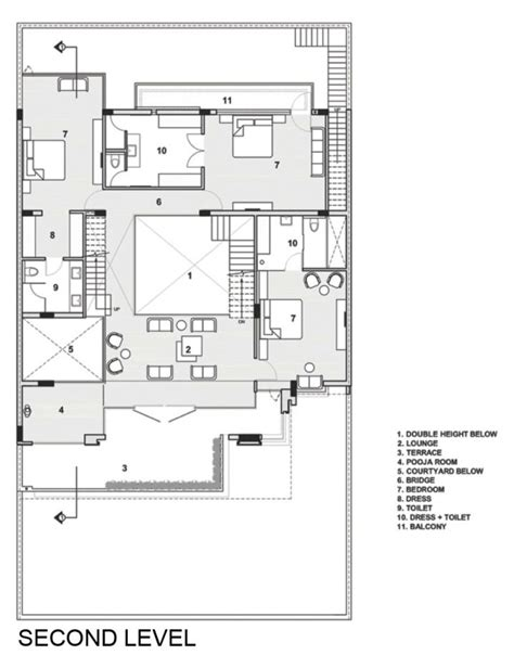modern house plans india indian modern house second floor plan