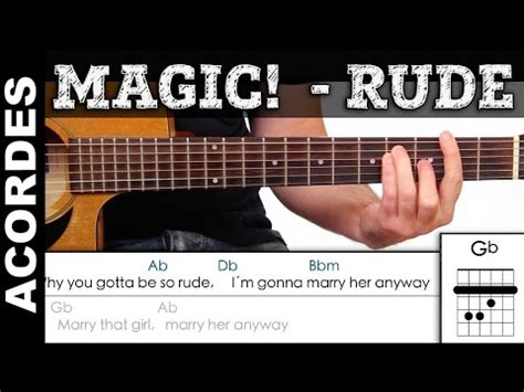 tutorial guitar rude how to play rude by magic reggae style guitar chords and
