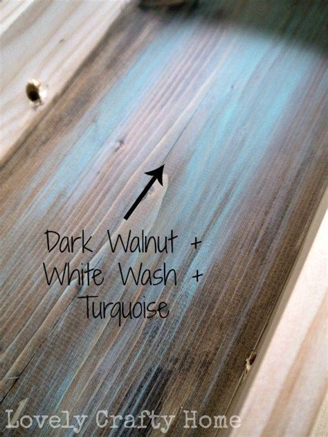 diy weathered table finish aging wood staining wood