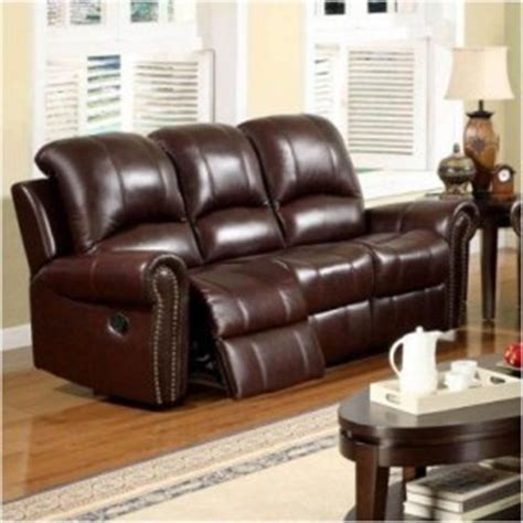 burgundy leather furniture thing