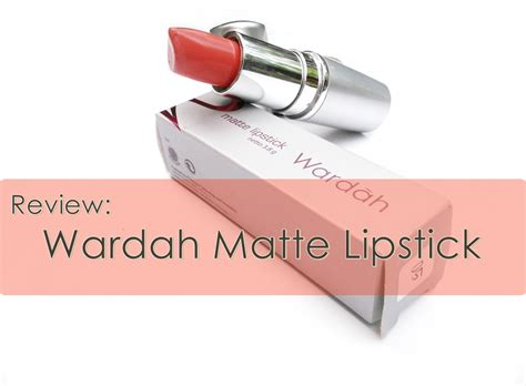 Review Wardah Review Wardah Matte Lipstick Thousands Of Miracles