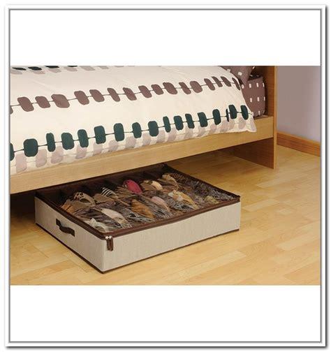 underbed shoe storage box underbed shoe storage box home design ideas
