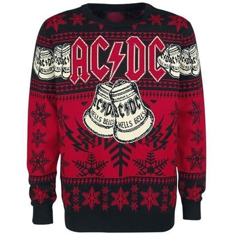 Sweater Ac Dc best band jumpers we wool rock yule udiscover