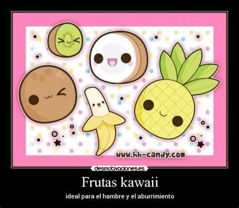 imagenes kawaii frutas frutas kawaii desmotivaciones