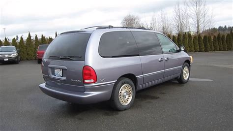 1997 Chrysler Town And Country by 1997 Chrysler Town Country Light Purple Stock 407835