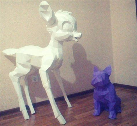 Deer Papercraft - papercraftsquare new paper craft disney the