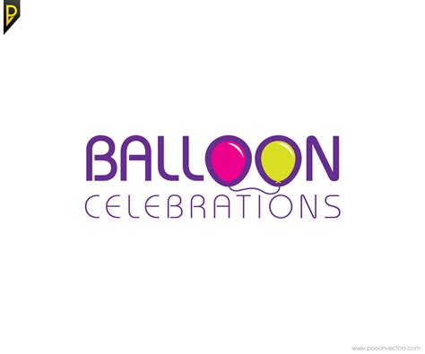 logo design for balloon celebrations by poisonvectors 41 professional logo designs for balloon celebrations a
