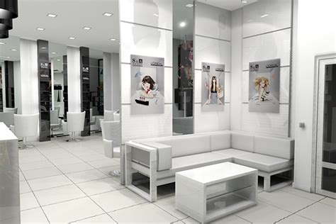 design interior salon rumahan s a group beauty salon interior design on behance