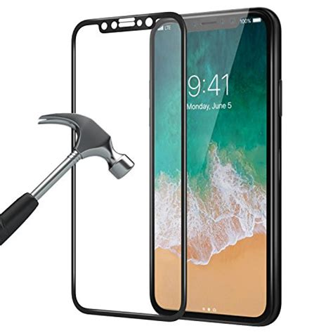 Tempered Glass For Iphone X 2017 Clear Matone Iphone X Screen Protector 3d Coverage 9h