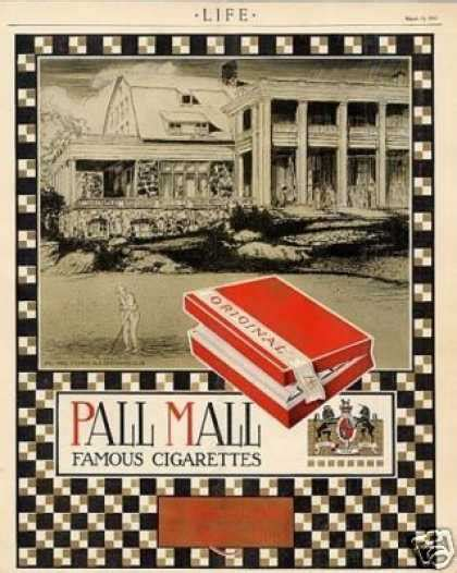 pall mall colors vintage tobacco cigarette ads of the 1910s page 8