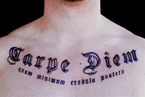 latin tattoo carpe diem great tattoos carpe diem tattoo