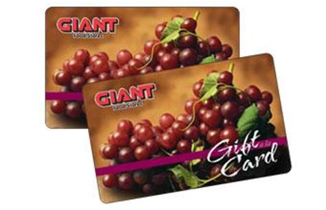 Giants Gift Cards - shop online gift cards giant food stores