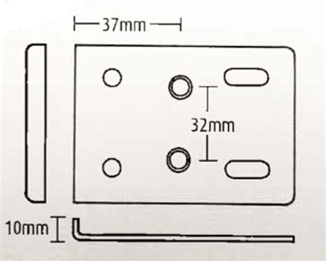 2 pack kitchen cabinet hinge repair plates white ebay kitchen cabinet hinge repair plates white pack of 10