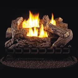 30 quot ventless gas log set 40 000 btu procom heating