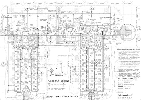 layout html pdf elevated station site plan and layout
