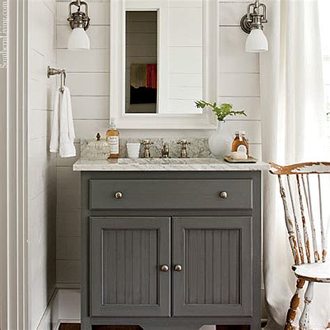 cottage style bathroom cabinets cottage style the lettered cottage