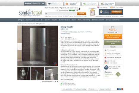 sanitair totaal sanitairtotaal nl webshop emerce eguide