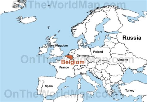 belgium in world map belgium location on world map