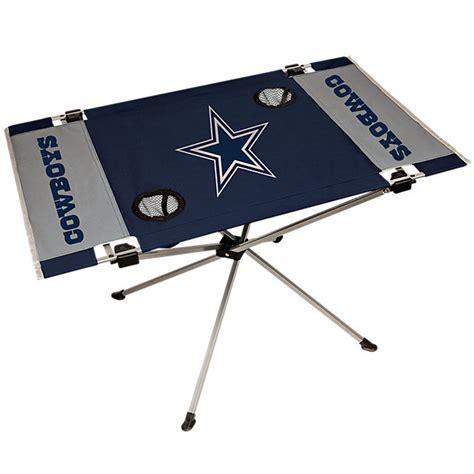 dallas cowboys folding table tailgating accessories cowboys catalog dallas