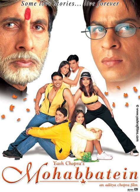 film india mohabbatein full movie mohabbatein 2000 shahrukh khan hindi movie posters