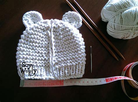 como tejer un gorro para bebe en dos agujas como hacer un gorro de beb 233 con dos agujas imagui