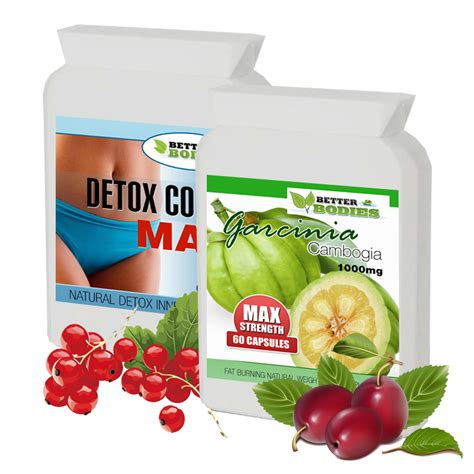 Garcinia Cambogia Detox 1000 by Better Bodies Health And Nutrition Supplements Vitamins