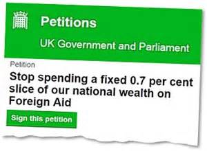 Attention Brits You To Sign This Petition Today by America Is Receiving Millions In Uk Taxpayers Money To