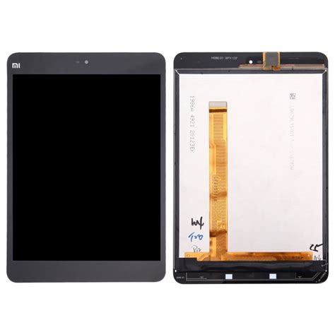 Lcd Xiao Mi Mi 2 Complete replacement xiaomi mi pad 2 lcd screen touch screen digitizer assembly black alex nld