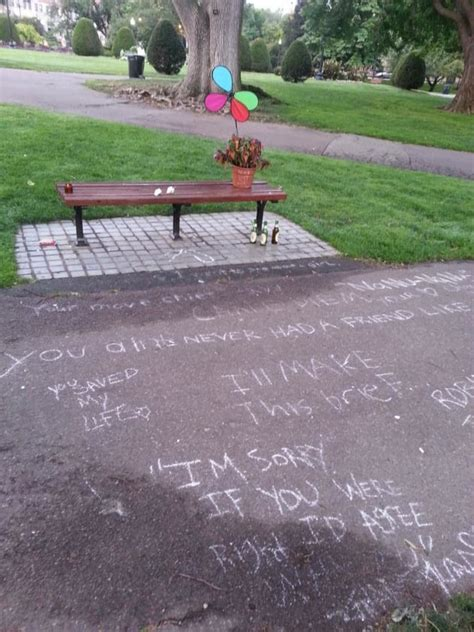 good will hunting bench robin williams cause of death confirmed as asphyxia due