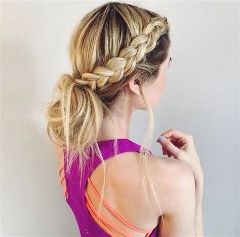 how to 6 easy lazy summer hairstyles hair tutorial word w 25 best ideas about lazy hairstyles on pinterest easy