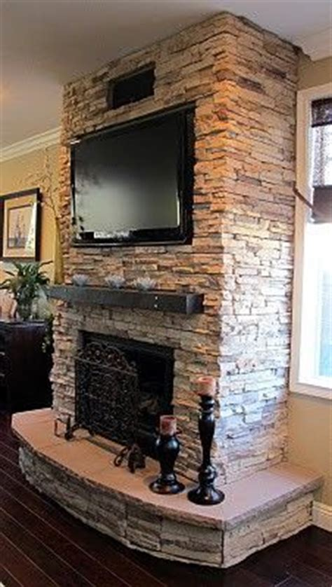 stacked fireplace real stack mantles