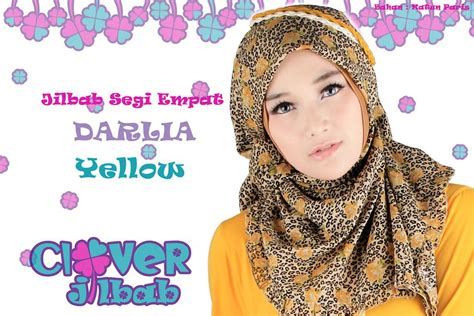 Segiempat Katun Silky Limited Stock clover jilbab modern