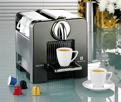 Krups Nespresso Le Cube Titanium Coffee Machine   review, compare prices, buy online