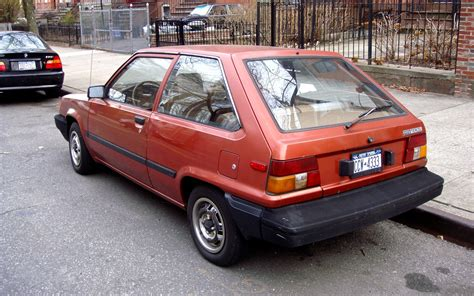 2 Door Toyota The Peep 1984 Toyota Tercel 2 Door