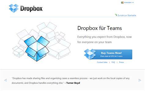 dropbox kosten datenaustausch dein netz aus daten dropbox startet team