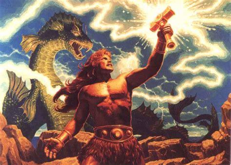 ancient god thor thor dios del trueno