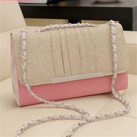 Cb1630 Tas Import Pink Hitam Selempang Handbags Polos tas wanita import korea aimee cantik model terbaru murah ryn fashion