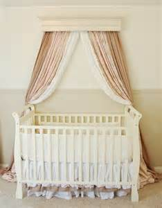 Bed Crown Canopy Crib How To Create A Bed Crown Makely