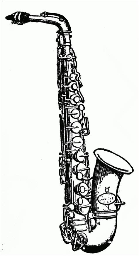 saxophone clipart clipartion com