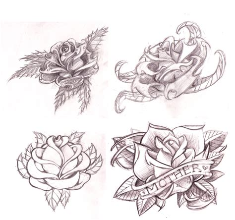 scroll and rose tattoo the gallery for gt scroll tattoos with roses